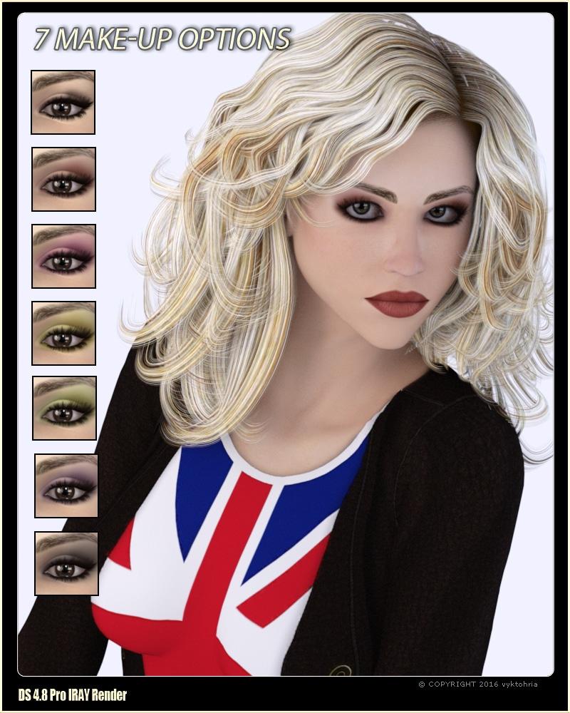 VYK_Cosplay - Rose for Victoria 4 Daz Celebrity 2