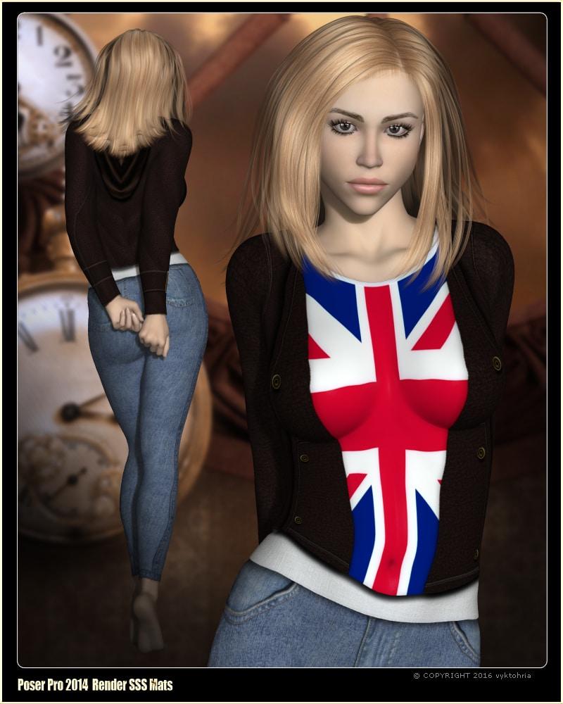 VYK_Cosplay - Rose for Victoria 4 Daz Celebrity 3