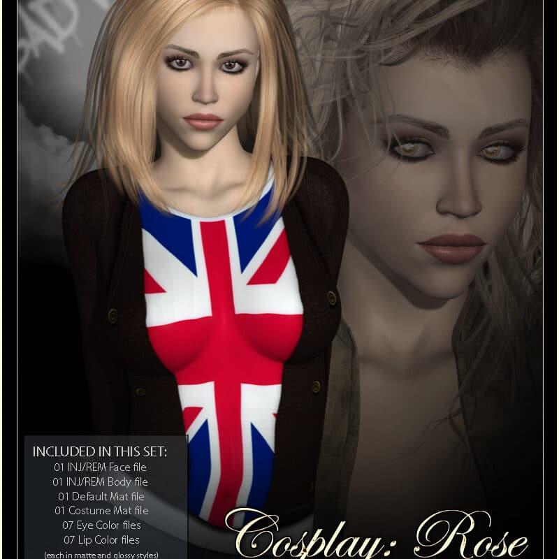 VYK_Cosplay - Rose for Victoria 4 Daz Celebrity