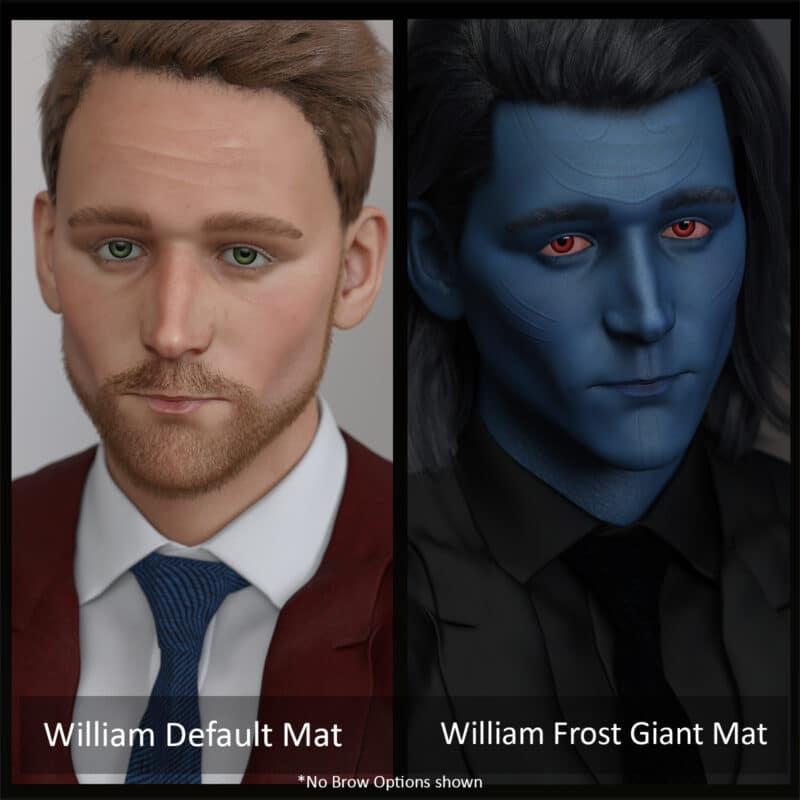 William For Genesis 8 Male - Daz Celebrity 4