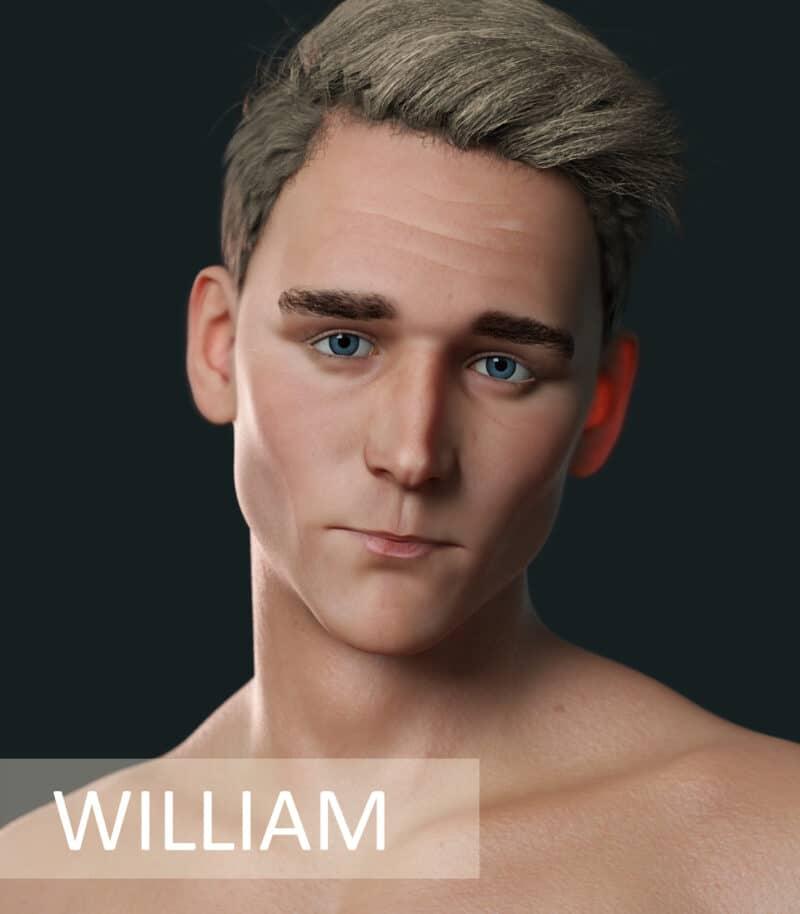 William For Genesis 8 Male - Daz Celebrity